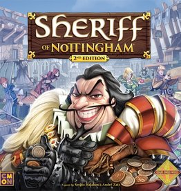 Cool Mini or Not Sheriff of Nottingham 2nd Editon