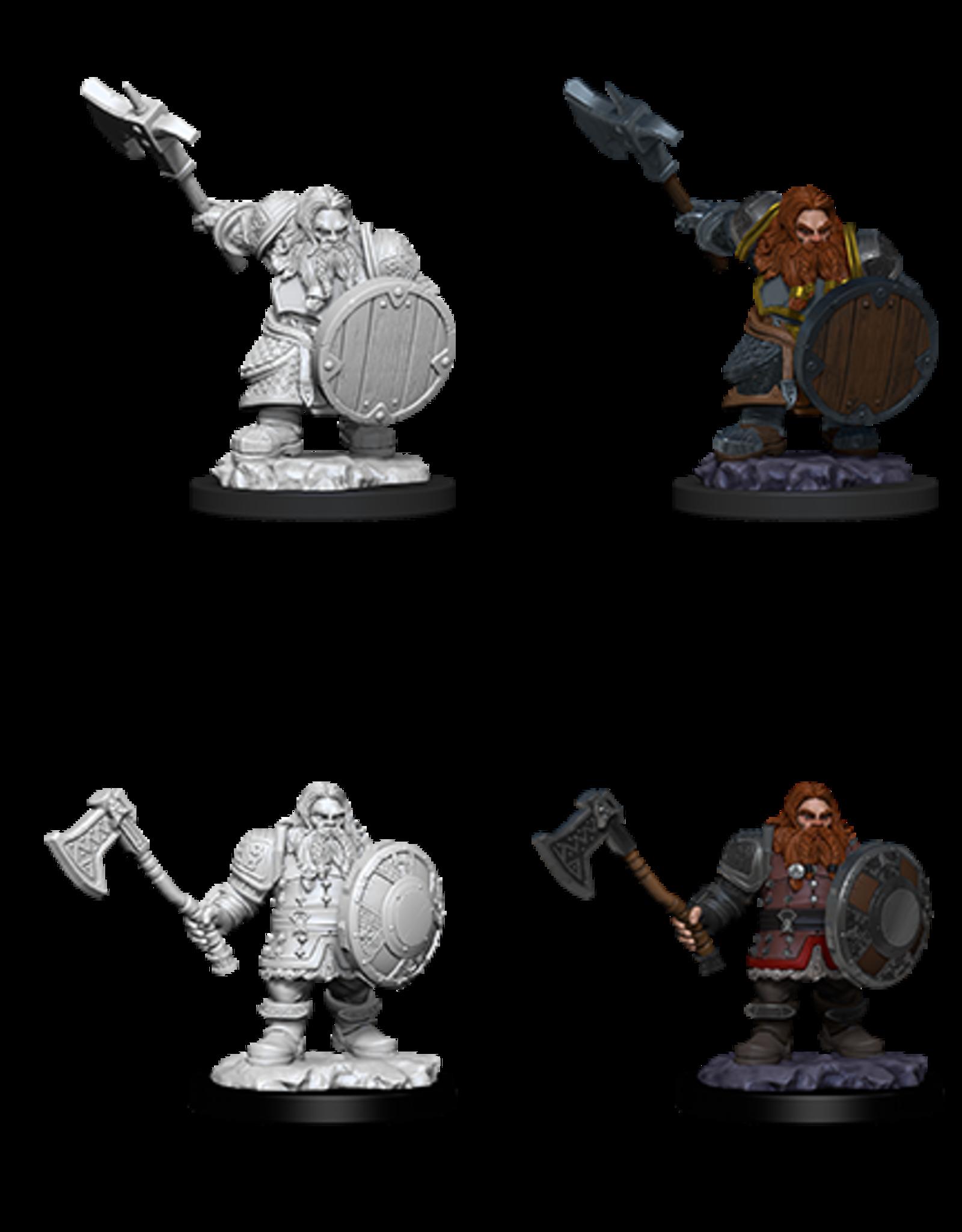 Wizkids D&D Nolzur's Marvelous Miniatures Dwarf Fighter Male