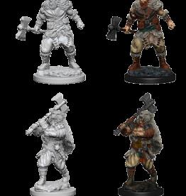 Wizkids D&D Nolzur's Marvelous Miniatures Human Barbarian Male