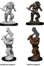 Wizkids D&D Nolzur's Marvelous Miniatures Wereboar and Werebear