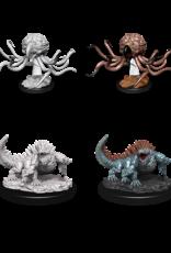 Wizkids D&D Nolzur's Marvelous Miniatures Grell and Basilisk