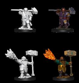 Wizkids D&D Nolzur's Marvelous Miniatures Dwarf Cleric Male 2