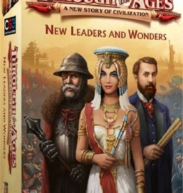 Czech Games Through the Ages New Leaders and Wonders (uitbreiding)