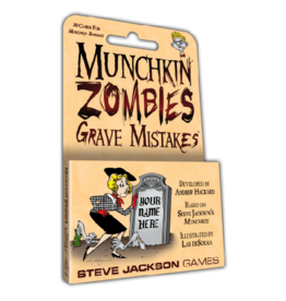 Steve Jackson Games Munchkin Zombie Grave Mistakes