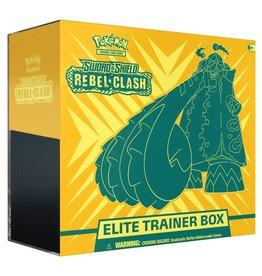 Pokemon USA Pokemon Sword and Shield Rebel Clash Elite Trainer Box