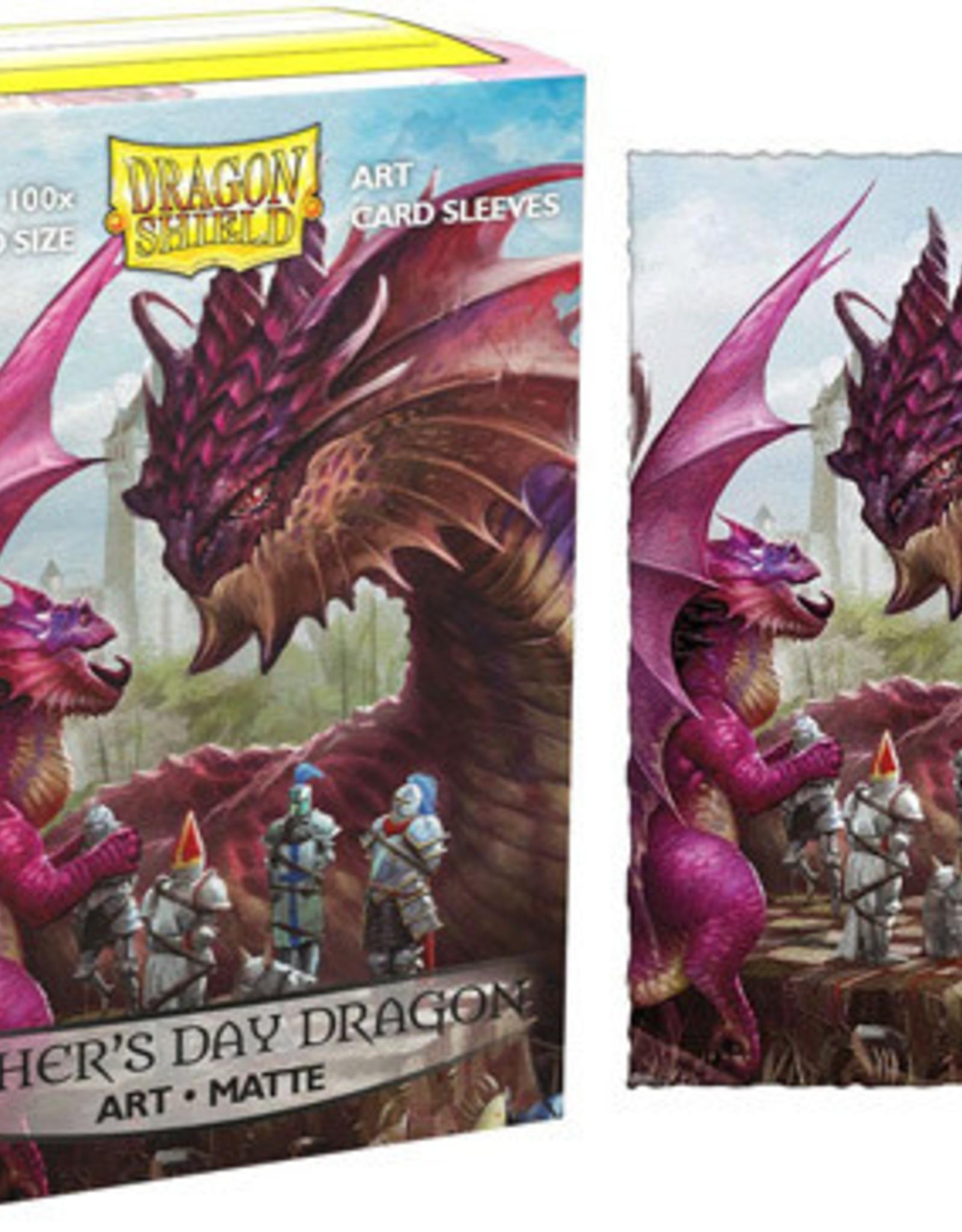 Dragonshield Dragonshield 100 Box Sleeves Art Matte Fathers Day 2020