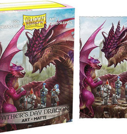 Dragonshield Dragonshield 100 Box Sleeves Art Matte Fathers Day 2020