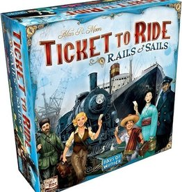 Days of Wonder Ticket to Ride: Rails and Sails (NL)