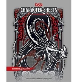 Wizards of the Coast D&D 5th ed. Character Sheets
