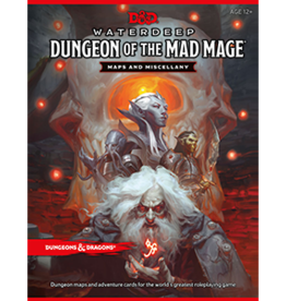 Wizards of the Coast D&D 5th ed. Maps & Misc - Dungeon of the Mad Mage