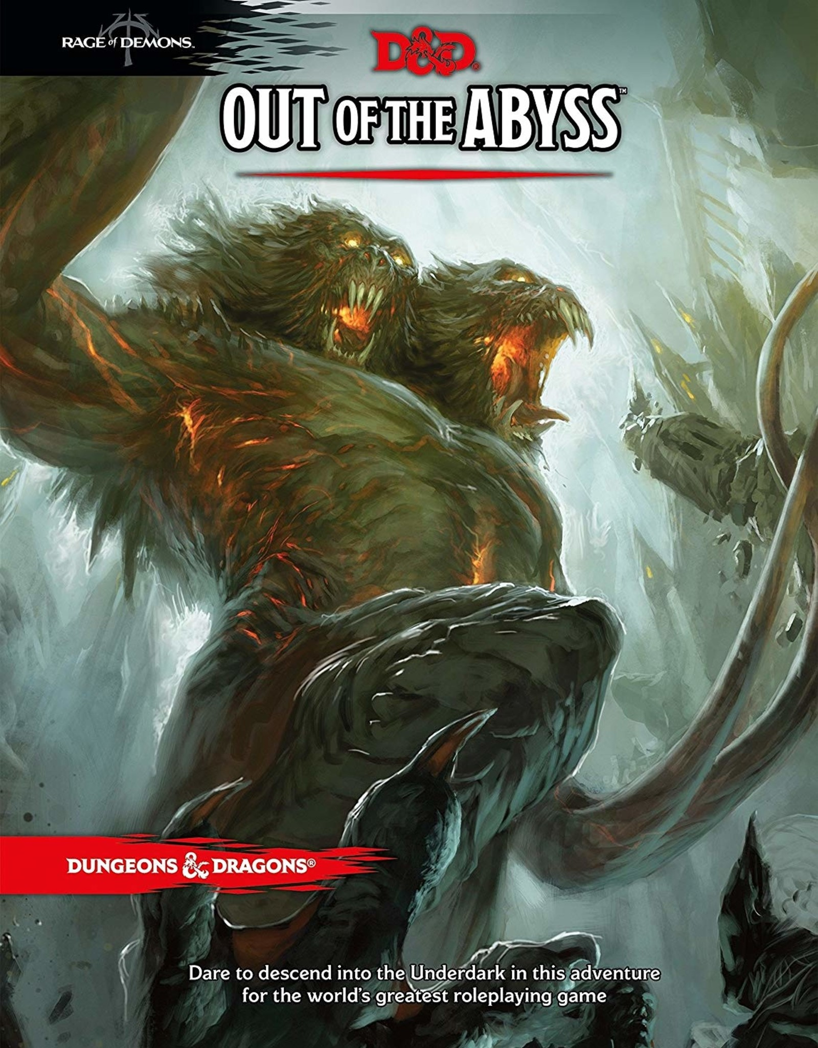 Wizards of the Coast D&D 5th ed. Out of the Abyss