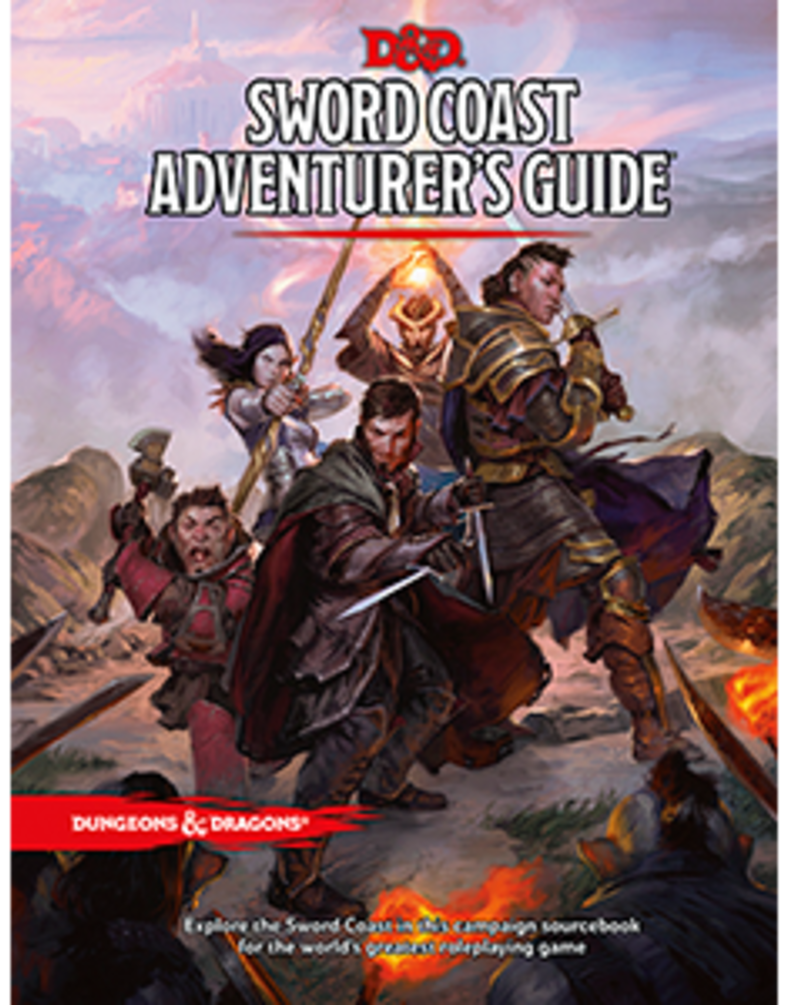 Wizards of the Coast D&D 5th ed. Sword Coast Adventurer's Guide
