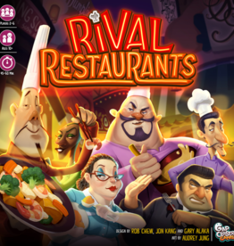 Gap Closer Games Rival Restaurants + Sleeves (Pre-order)