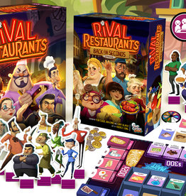Gap Closer Games Rival Restaurants Deluxe + Back for Seconds expansion + Sleeves (Pre-order)