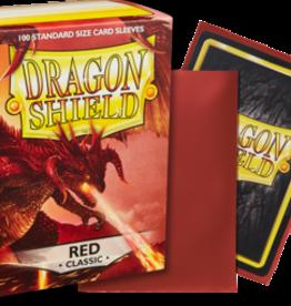 Dragonshield Dragonshield 100 Box Sleeves Classic Red