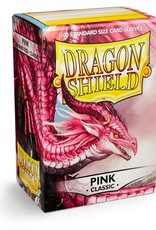 Dragonshield Dragonshield 100 Box Sleeves Classic Pink