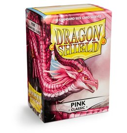 Dragonshield Dragonshield 100 Box Sleeves Classic Pink