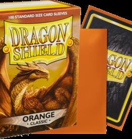 Dragonshield Dragonshield 100 Box Sleeves Classic Orange