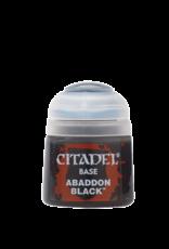 Citadel Citadel Base: Abaddon Black (12ml)