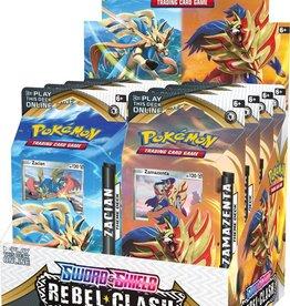Pokemon USA Pokemon Sword and Shield Rebel Clash Theme Deck