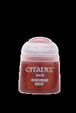 Games Workshop Citadel Base: Khorne Red