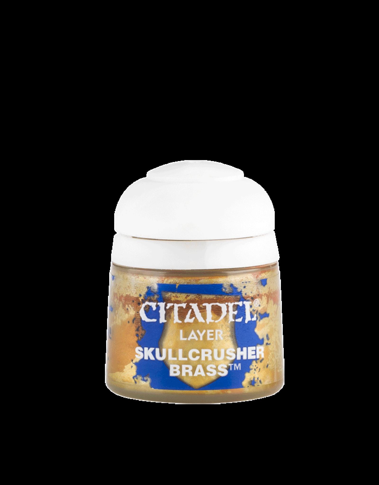 Citadel Citadel Layer: Skullcrusher Brass (12ml)