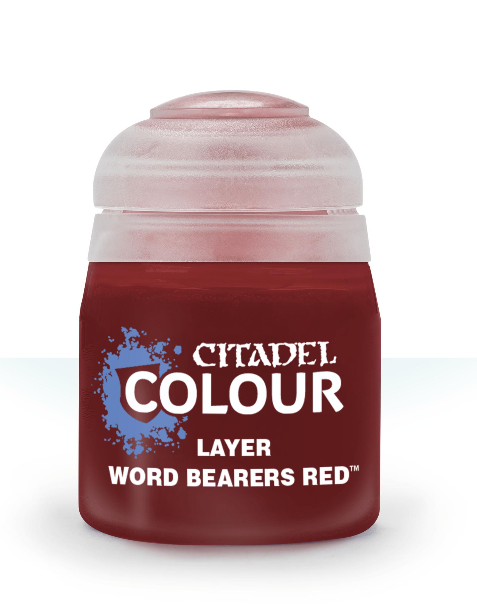 Games Workshop Citadel Layer: Word Bearers Red (12ml)