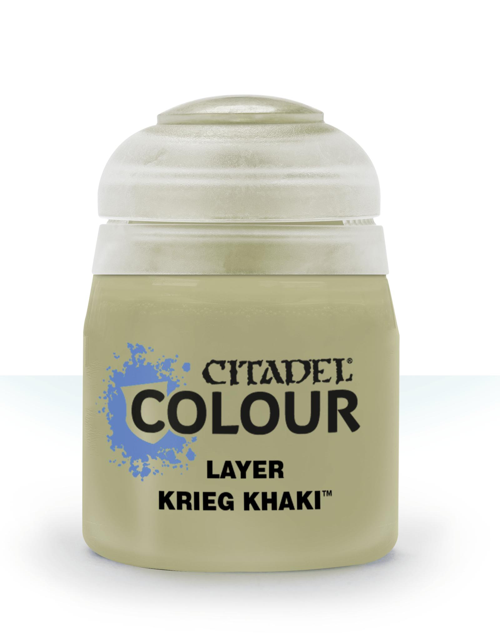 Games Workshop Citadel Layer: Krieg Khaki (12ml)
