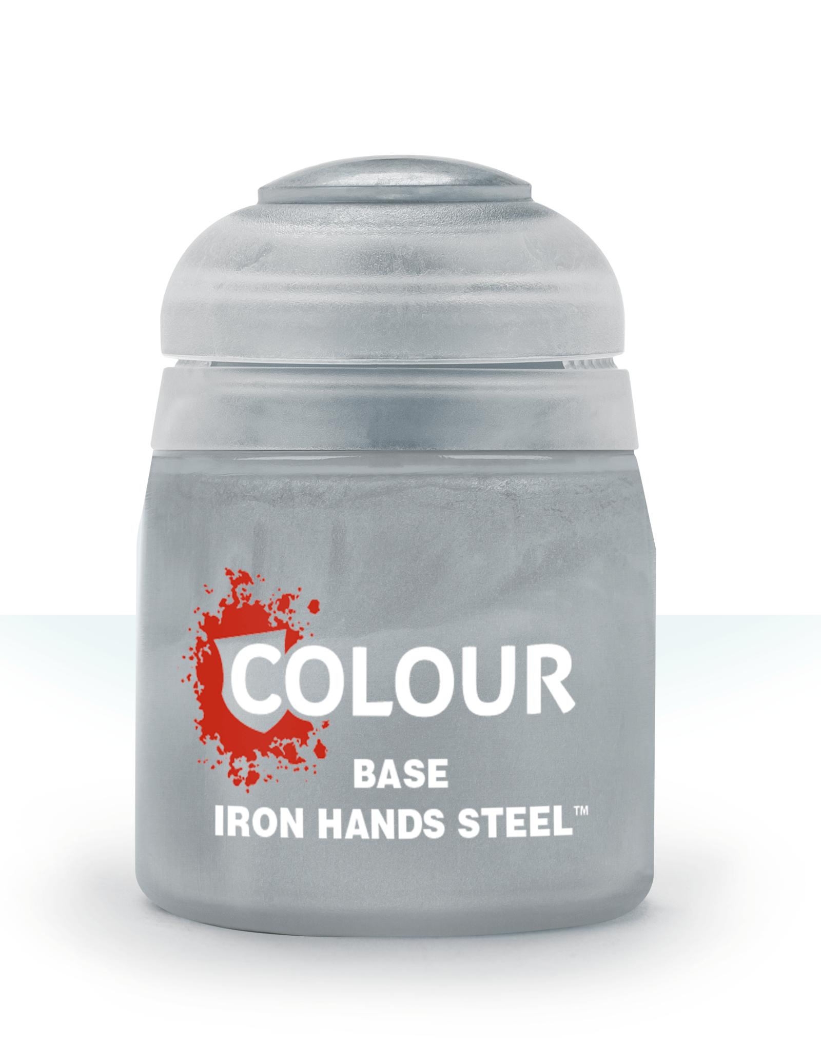 Games Workshop Citadel Base: Iron Hands Steel (12ml)