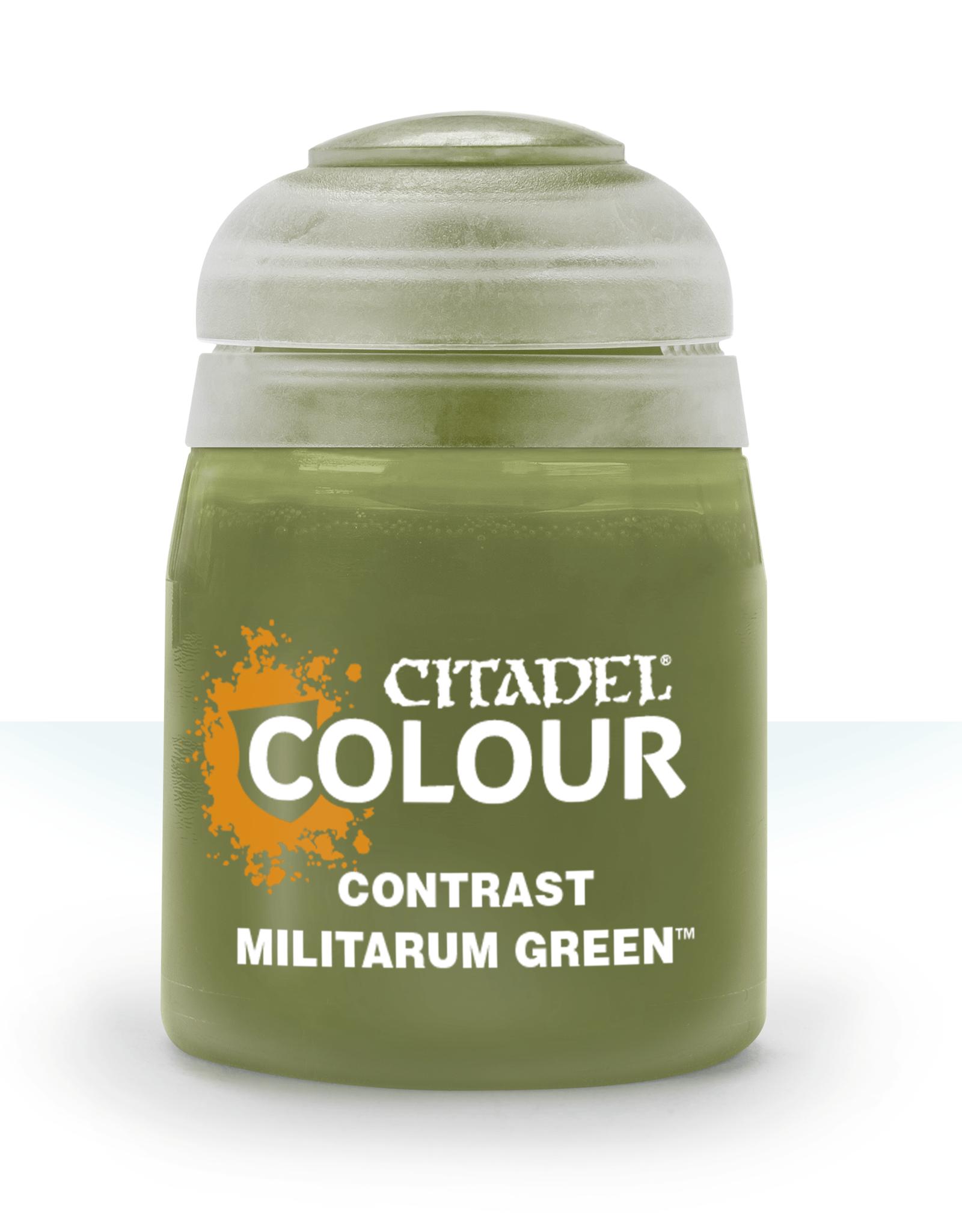 Games Workshop Citadel Contrast: Militarum Green (18ml)