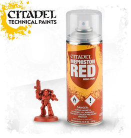 Games Workshop Citadel Spray: Mephiston Red