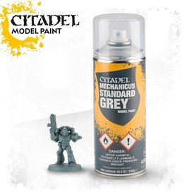 Games Workshop Citadel Spray: Mechanicus Standard Grey