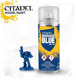 Games Workshop Citadel Spray: Macragge Blue