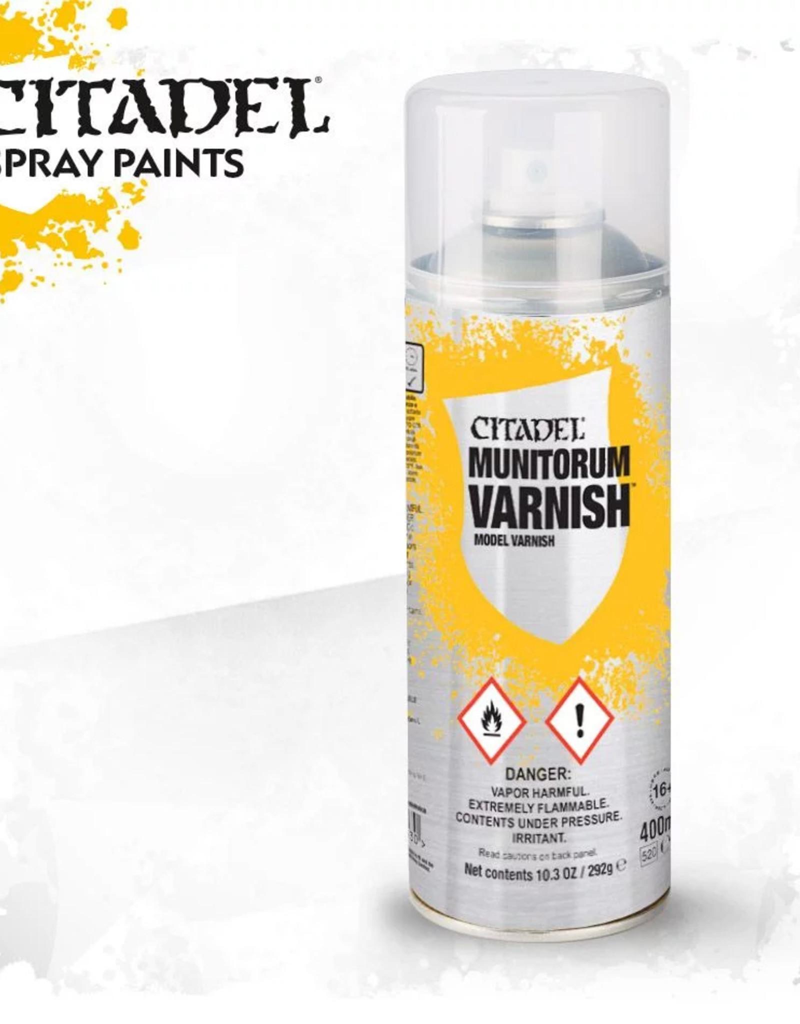 Games Workshop Citadel Spray: Munitorum Varnish