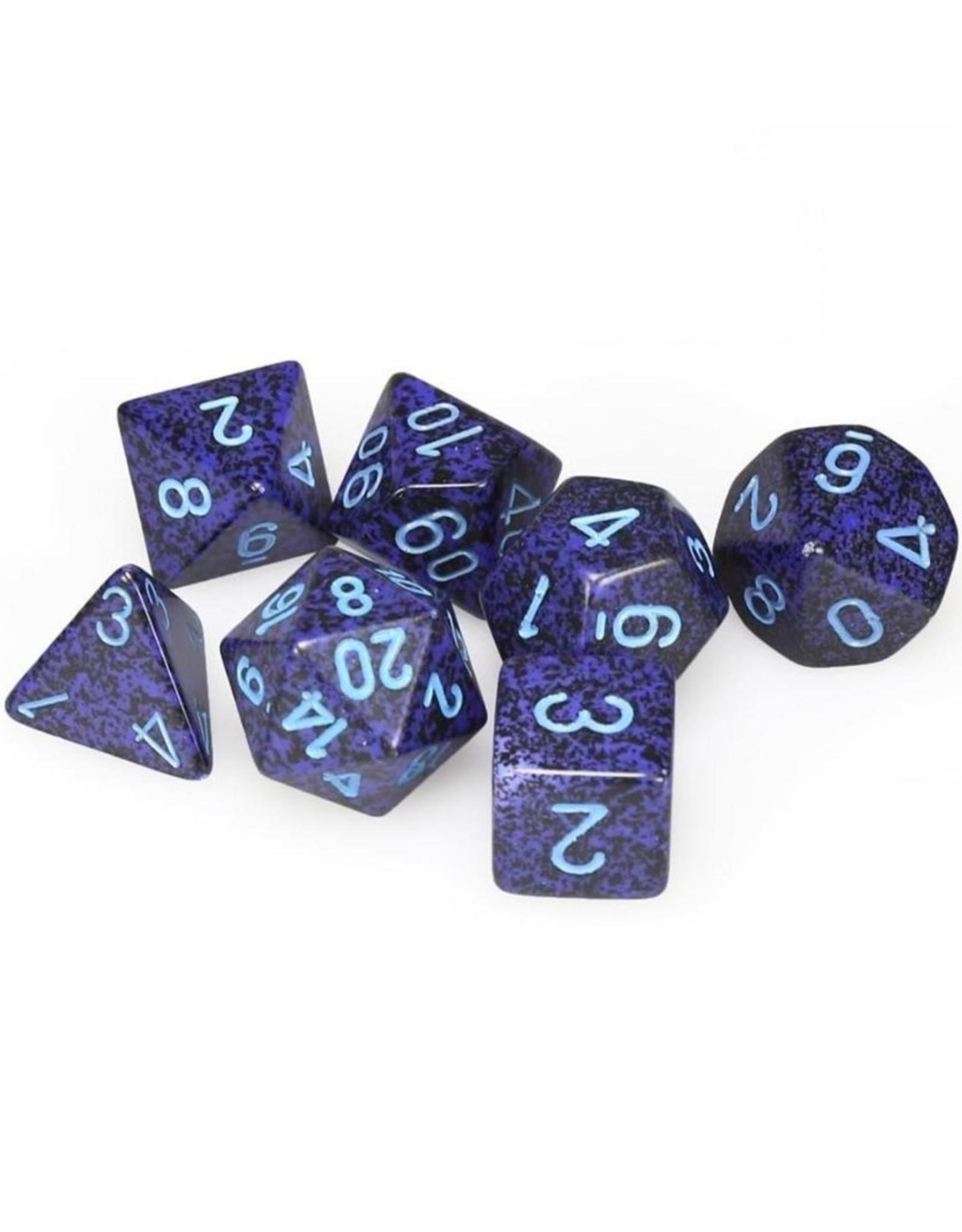 Chessex Chessex 7-Die set Speckled - Cobalt