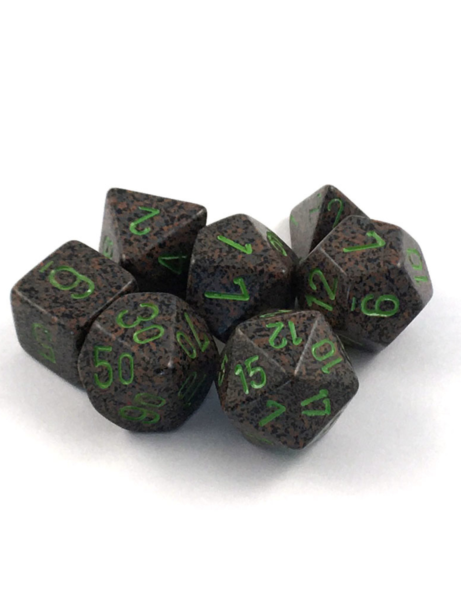 Chessex Chessex 7-Die set Speckled - Earth