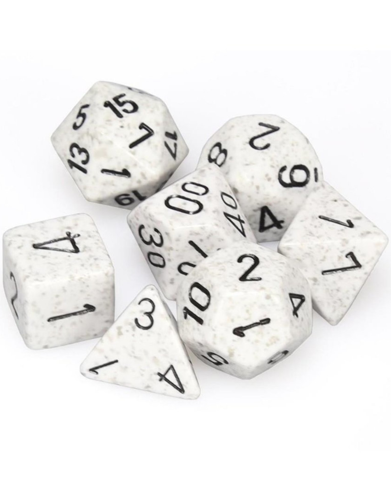 Chessex Chessex 7-Die set Speckled - Arctic Camo