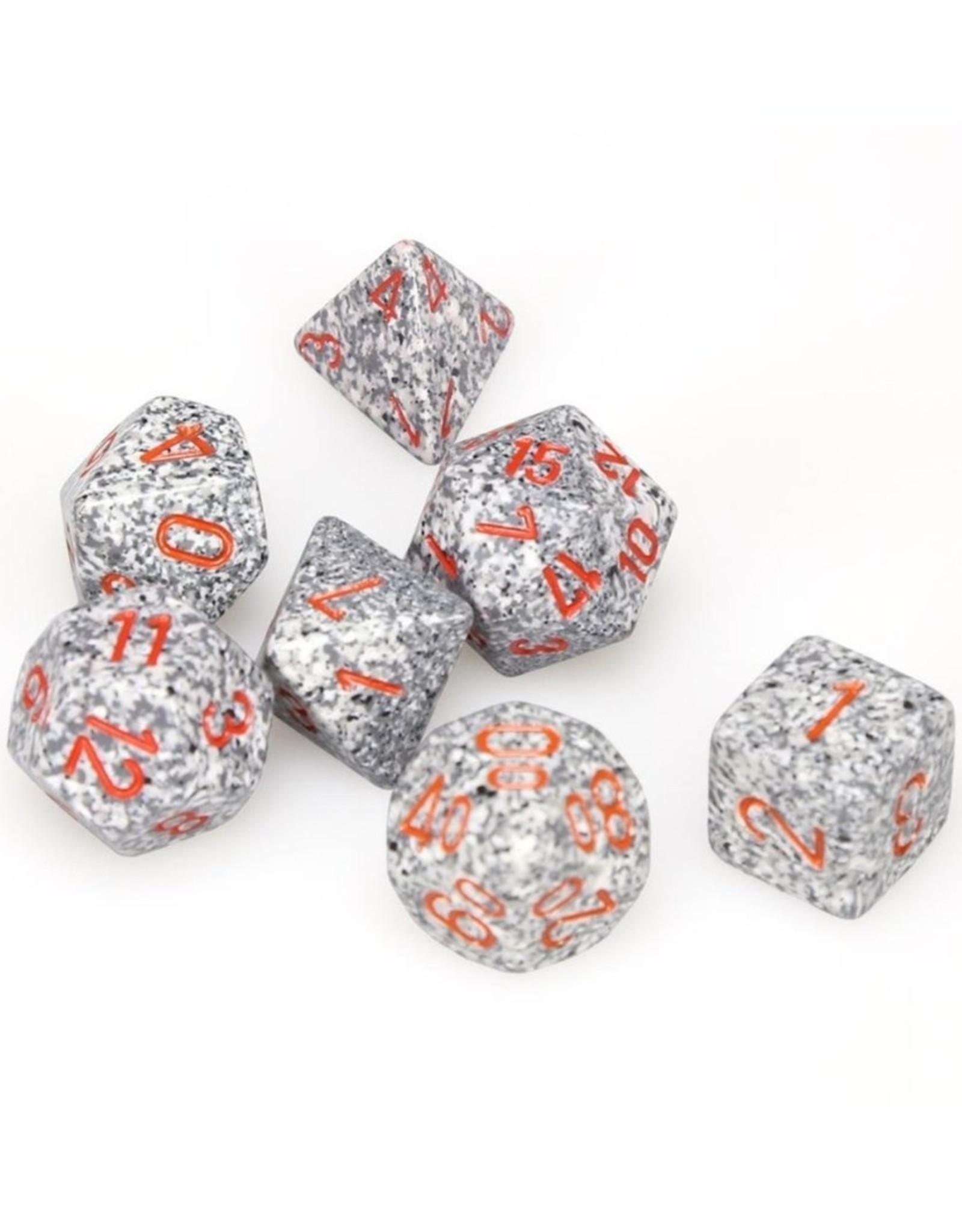Chessex Chessex 7-Die set Speckled - Granite