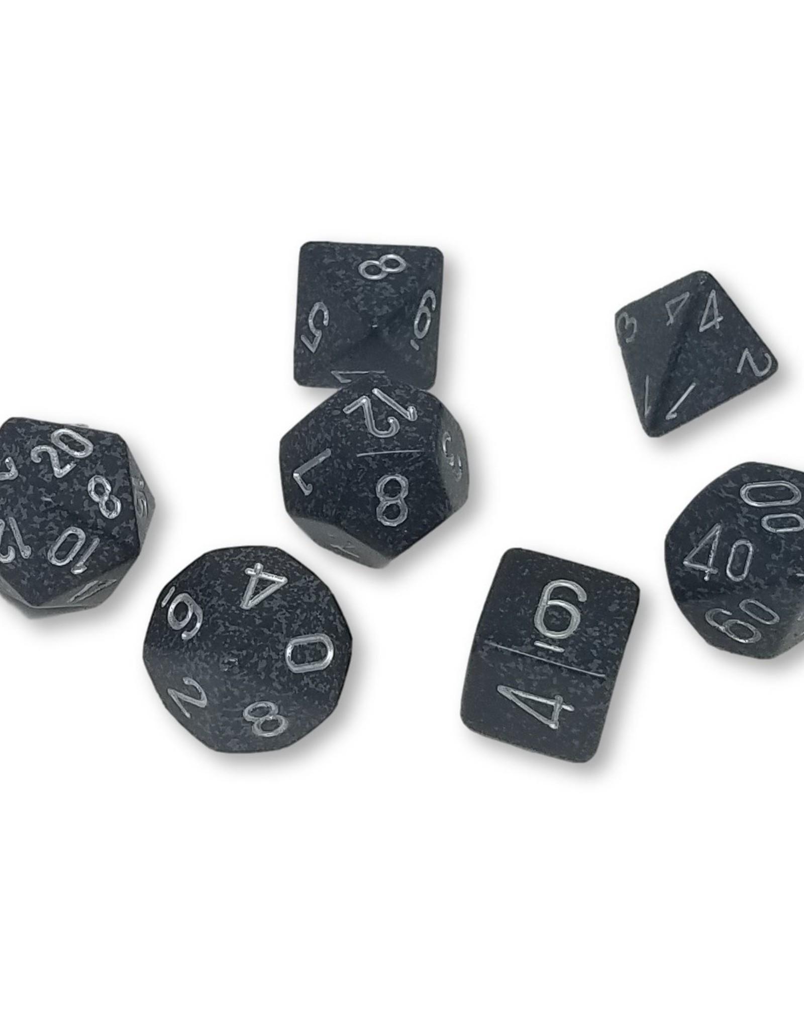 Chessex Chessex 7-Die set Speckled - Ninja