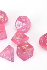 Chessex Chessex 7-Die set Borealis - Pink/Silver
