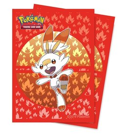 Ultra Pro Sleeves Pokemon Sword and Shield Galar Starters Scorbunny (65)