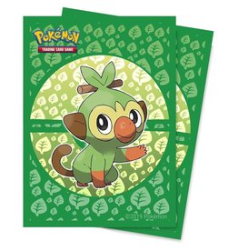 Ultra Pro Sleeves Pokemon Sword and Shield Galar Starters Grookey (65)