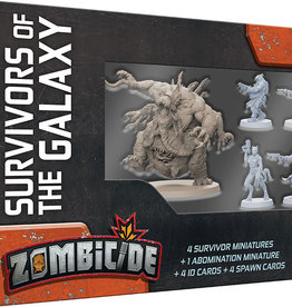 Cool Mini or Not Zombicide Invader Survivors of the Galaxy uitbreiding