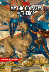 Wizards of the Coast (PRE-ORDER) D&D 5th ed. Mythic Odysseys of Theros