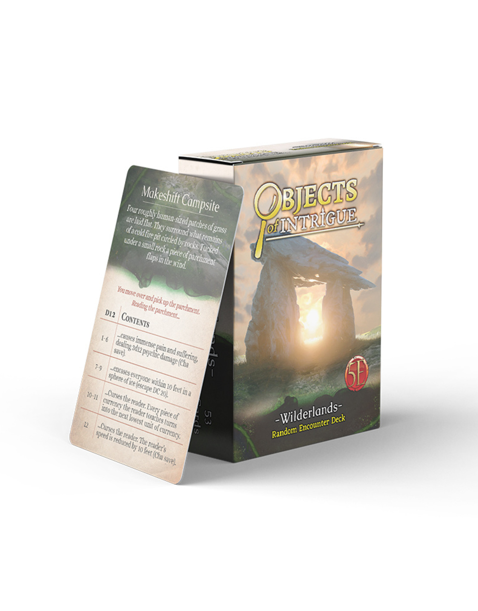 Nord Games Objects of Intrigue - Underground