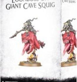 Games Workshop Gloomspite Gitz Loonboss on Giant Cave Squig