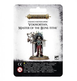 Games Workshop Ossiarch Bonereapers Vokmortian. Master of the Bone-Tithe