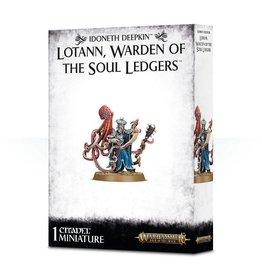 Games Workshop Idoneth Deepkin Lotann Warden of the Soul Ledgers