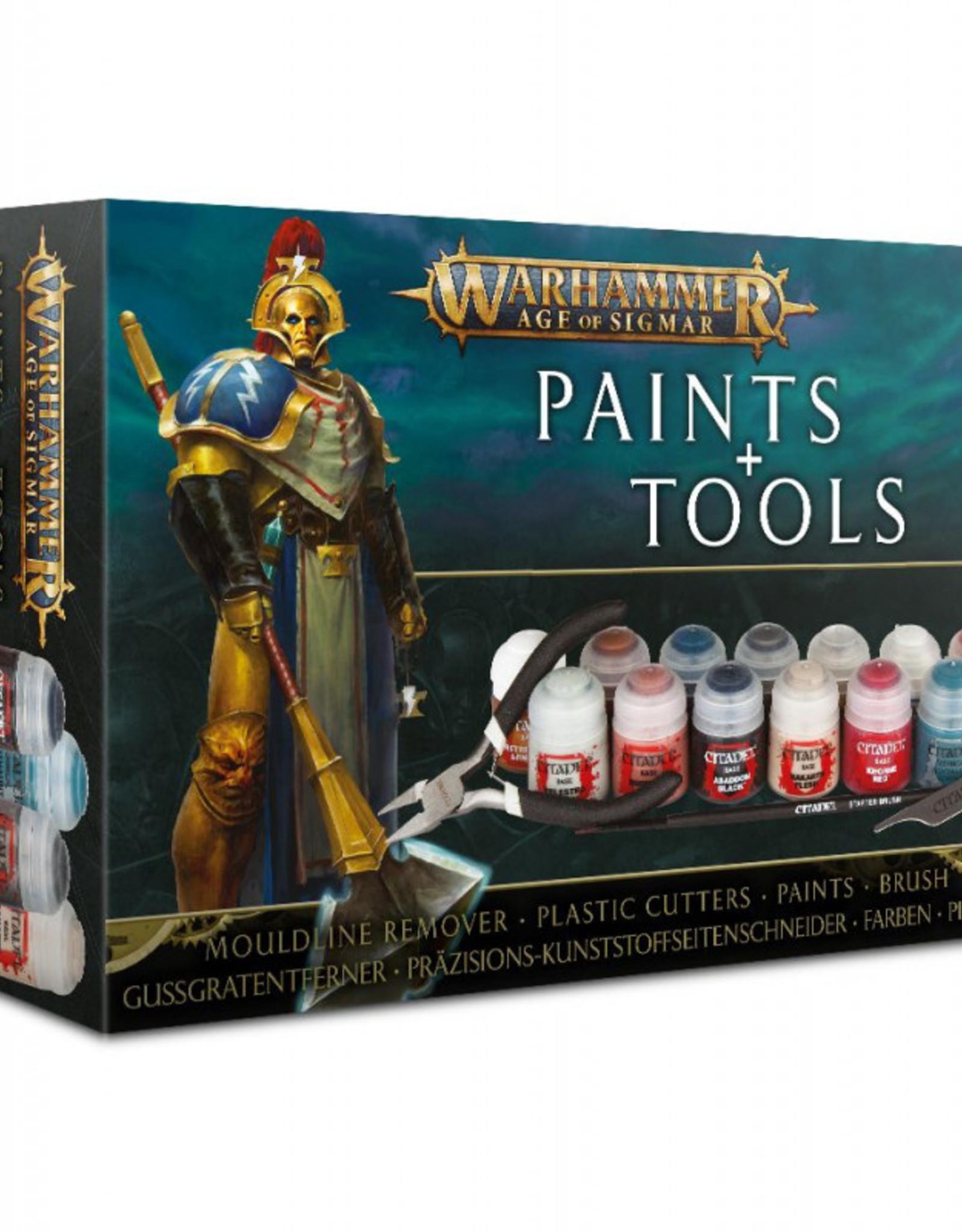 Games Workshop Age of Sigmar Paints + Tools