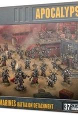 Games Workshop Apocalypse - Chaos Space Marines Batallion Detachment